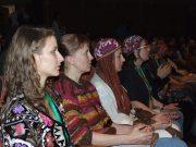 Алла Гончаренко на конгрессе в Дели