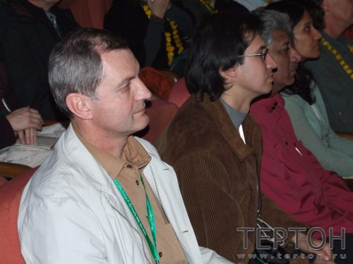 В. Майков на конгрессе в Дели