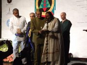 Каран Сингх и Шри Шри Рави Шанкар открывают конгресс