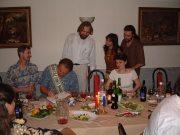 На юбилее доктора Грофа (Москва, 2001)