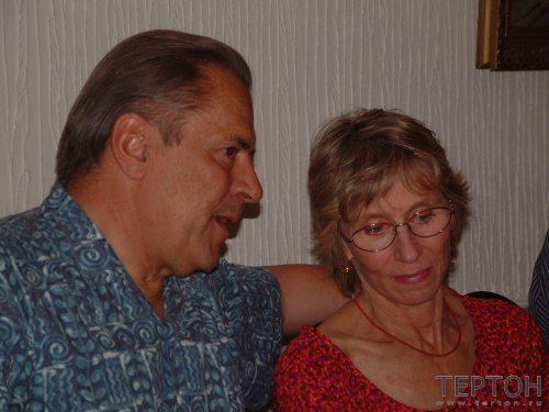 Станислав и Кристина Гроф (Москва, 2001г.)