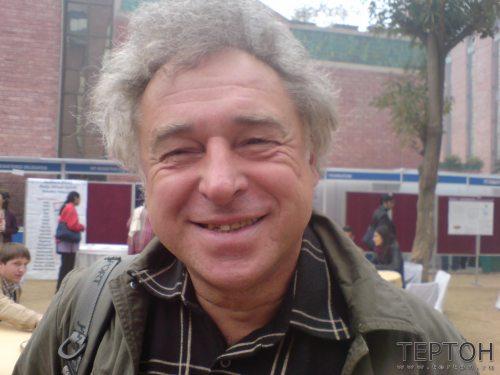 Евгений Файдыш на конгрессе в Дели