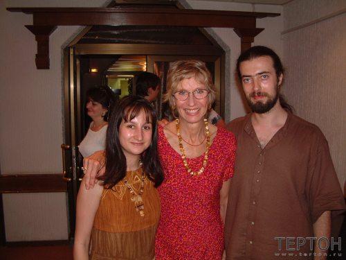 И. Зингерман,  К. Гроф и Г. Карельский (Москва , 2001г.)