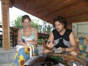 И.Лехт и Г.Карельский на тренинге в Болгарии