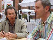 В.Майков на встрече с представителми прессы (конгресс в Дели)