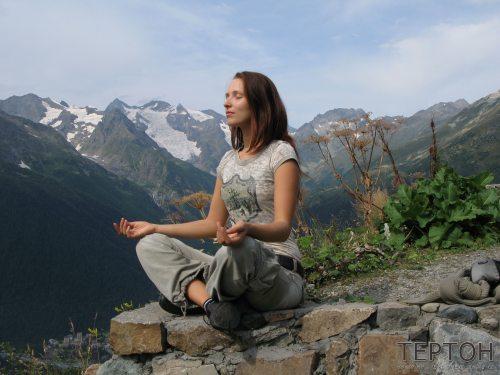 Ольга Фоменко (медитация в горах)
