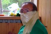 Тимур Каримов (Тувден Лакшид Эмчи Лама) на ритуале учения бон