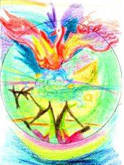 мандала - трансперсональное переживание общения с птицей Говоруном